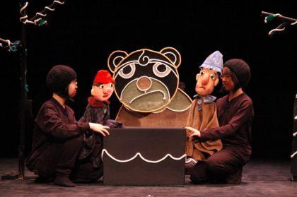 【こぐま座】人形劇「おおかみがんばれ」「The Isopp」ほか イメージ画像