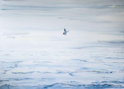 安達ロベルト水彩画展 in SAPPORO 「A New Planet」 イメージ画像